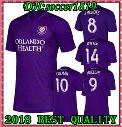 de0c65ae63b 2019 2020 MLS Orlando City Nani Soccer Jerseys J.MENDEZ MUELLER COLMAN DWYER  KLJESTAN Futbol Camisa MLS Football Camisetas Shirt Kit Maillot