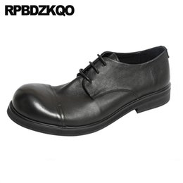 $enCountryForm.capitalKeyWord Australia - italian oxfords lace up casual party british style runway european round toe luxury black men shoes italy brand genuine leather