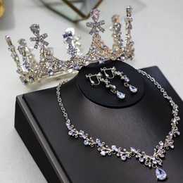 $enCountryForm.capitalKeyWord Australia - Silver Gold Real Handmade Wedding Crowns Crystal Queen Princess Bridal Party Hair Jewelry Rhinestone Headband Tiara 2019 New Arrival