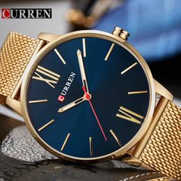 Luxury Sport Casual Watches Australia - Relogio Masculino Curren Watch Men Brand Luxury Steel Waterproof Quartz Mens Watches Casual Sport Male Clock Wristwatches 8238 Y19052103