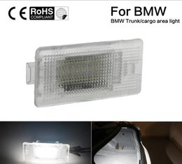 e46 led license plate light Australia - No Error 24SMD LED Luggage Compartment Trunk Cargo Area Light for BMW F01 E39 E60 M5 E53 X5 E66 E90 E46