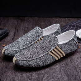 $enCountryForm.capitalKeyWord Australia - New Arrivals Men Flat Shoes Casual Shoes Comfort Loafers Men Moccasins Pu Leather Slip-on Spring and Autumn Male Canvas Shoes FD564