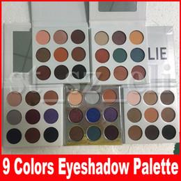 China Fall Collection eyeshadow eye shadow Pressed Powder Eye shadow Palette Bronze Burgundy holiday purple blue honey eye Makeup 9 Colors suppliers