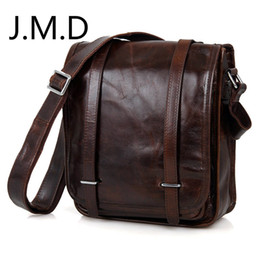 jmd leather bags Australia - J.M.D Real Leather Sling Bag For Men Messenger Shoulder Bags Cross Body Bags JMD Leather Handbags 7109