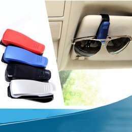 $enCountryForm.capitalKeyWord Australia - Glasses Holders For Car Sun Visor Sunglasses Eyeglasses Mount With Ticket Card Clip