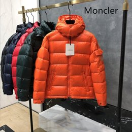winter parka jackets for men Australia - Luxury Monclers Designers winter jacket Parkas for men comfortable soft material 90% down casual canada winter down coat Doudoune size 1-5
