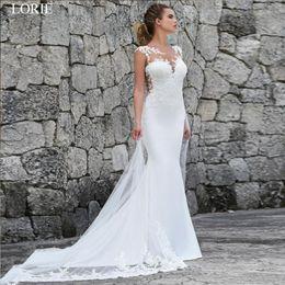$enCountryForm.capitalKeyWord NZ - Lorie Mermaid Wedding Dresses Turkey 2019 Lace Appliques Bridal Dress Custom Made Wedding Gown Vestidos De Noiva Plus Size Y19072901