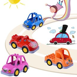 $enCountryForm.capitalKeyWord Australia - Children Educational Toys Cartoon Large Particle Assembly Building Block Car Fashion Assembly Building Block Car