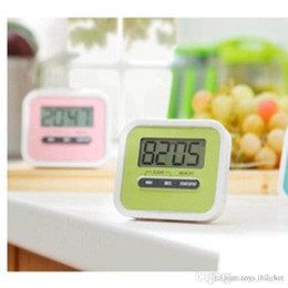 Lcd Kitchen Clock Australia - New A lazy cook timer Kitchen Cooking 99 Minute Digital LCD Alarm Clock Medication Sport Countdown Calculator Kitchen Timers