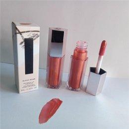 Großhandel Versand Makeup Lippenstift Glänzend Kirsche Vitamin Plumping freier Diamant Milch fallen Lippe Flüssigkeit Lipgloss Bombe glühen pingelig 9ml Glasur