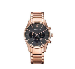 quartz women famous watches UK - 2019 Famous Logo 43mm Auto Date Dial Men And Women Business Watches Finely Processed Sliver Steel Strap Daily Waterproof Quartz Watches