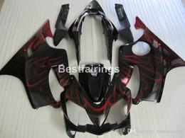 $enCountryForm.capitalKeyWord Australia - Injection OEM fairing kit for Honda CBR600 F4I 04 05 06 07 red flames black fairings set CBR600 F4I 2004-2007 IY28