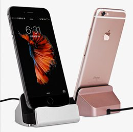 $enCountryForm.capitalKeyWord NZ - Cell Phone Chargers Dock Chargers for Type-C microV8 ios Charging dock Android interface base ipad tablet mobile phone charger