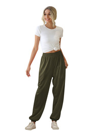 Wholesale women working pants for sale – dress Bootcut Yoga Pants with Pockets for Women High Waist Workout Bootleg Pants Tummy Control Pockets Work Pants for Women Colors