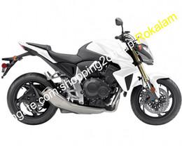 $enCountryForm.capitalKeyWord Australia - Moto Cowling For Honda CB1000R 08-15 CB1000 R 2008 2009 2010 2011 2012 2013 2014 2015 CB 1000R White Gray Motorcycle Fairing Set