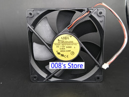 plastic pins 2019 - New CPU Cooler Fan For 12V 0.50A S 54060 12CM AD1212US-A71GL 54060 12025 120*120*25MM Air Volume Chassis Cooling 2 Pins