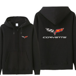 Wholesale chevrolet hoodie for sale – custom Autumn chevrolet corvette Hoodies Men Fashion Coat Fleece Pullover Unisex Man chevrolet corvette Sweatshirts