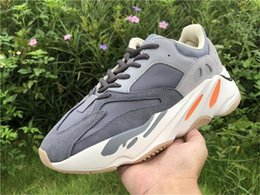 retail magnets NZ - Originals 5boost 700 Magnet Fv9923 Wave Runner Kanye West Running Shoes For Men Women Teal Blue 3m Reflective Authentic Sneakers Sports