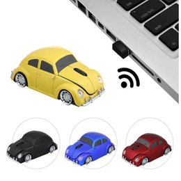 $enCountryForm.capitalKeyWord Australia - 2.4G Car Mouse USB Computer Mice Mini Car Shaped 1000 DPI LED Light Receiver for PC Laptop office for Desktop computer