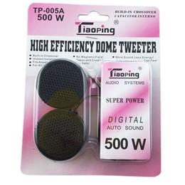 TP-005A 500W Universal de alta eficiencia 2x Coche Mini domo Tweeter Altavoz Loud Speaker Super Power Audio Auto sonido venta caliente