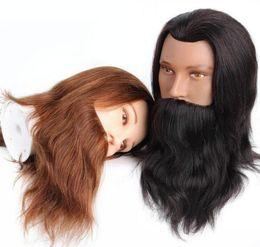 Dark Brown Hair Color Celebrities Australia - Human Hair Mannequine Head High Quality Virgin Indian Hair Dark Brown Color Light Brown Color Celebrity Wig Free Shipping