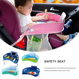 $enCountryForm.capitalKeyWord Australia - Car Safety Seat Plate Multifunctional Car Painting Table Baby Eating Table For Children Stroller Chair Stroller Accessories