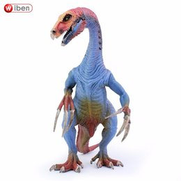 $enCountryForm.capitalKeyWord Australia - Wiben Jurassic Therizinosaurus Dinosaur Toy Action Figure Animal Model Collection Learning &Educational Kids Christmas Gift