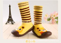 e2d31e69ca9f dkDaKanl Baby Girls  Boys  Socks With Rubber Soles Anti Slip Toddler Indoor  Floor Shoes Infant Socks TCL9027