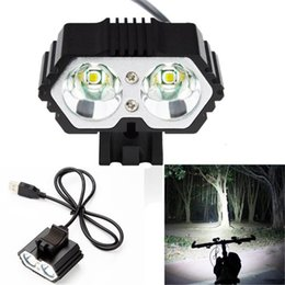 professional lights Australia - Professional bike light front Bicycle Light Power Bank Waterproof USB Rechargeable Bike Light Flashlight #2A26 #191416