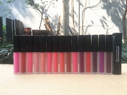 natural lip sticks 2019 - Factory Direct DHL Free Shipping New Makeup Lips Hot Brand M9203 Matte Lip Gloss Non-Stick Cup Lip Gloss!4.8g cheap natu