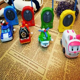 children toy car police 2019 - Walkie-talkie Emotion Parent-child Communication Interactive Toys Car Man Metamorphosis Police Car Children Walkie-talki