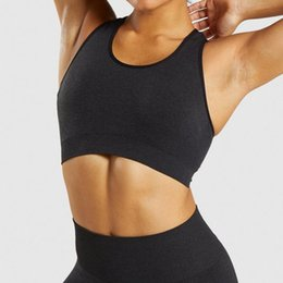 bra sleeves NZ - SVOKOR Stripe Crop Top Seamless Workout Women Yoga Top Breathable Push Up Gym Long Sleeve Sports Bra Sportswear Suits