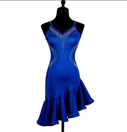 $enCountryForm.capitalKeyWord UK - Top Sale Latin Dance Dresses For Women Black Lace Club Party Dancer Singer Entertainer Fringe Tassel Black Dress