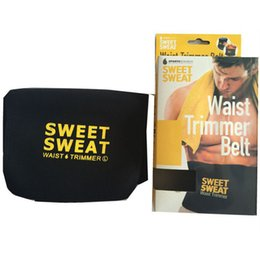 6cdf8c0d393 3 Colors Hot Selling Sweet Sweat Premium Waist Trimmer Men Women Belt  Slimmer Exercise Ab Waist Wrap with retail Packaging