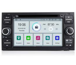 $enCountryForm.capitalKeyWord Australia - COIKA Quad Core Android 9.0 System Car DVD Auto Head Unit Radio For Ford Transit Focus Kuga Fiesta Connctor S-max Galaxy GPS Navi BT