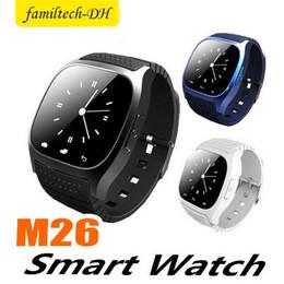 $enCountryForm.capitalKeyWord Australia - M26 Bluetooth Smart Watch With SIM Card Slot NFC Health Watchs For Samsung Android Smartphone Cradle Design