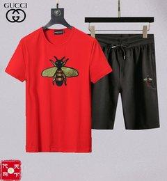 Football Dress Men Australia - Short-sleeved T-shirt men's summer 19 new trend men's shorts suit casual art sportswear summer dress M-XXXL