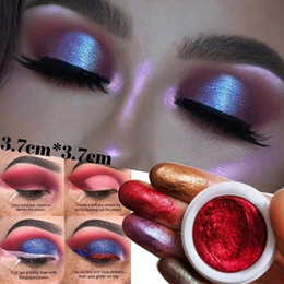 12 eye shadow powders Canada - 12 Colors Mixed Colors Powder Pigment Glitter Mineral Spangle Eyeshadow Makeup Cosmetics Set Make Up Shimmer Shining Eye Shadow