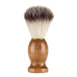 $enCountryForm.capitalKeyWord UK - Badger Shaving Brush-Black Handle- Engineered for the Best Shave of Your Life. For, Safety Razor, Double Edge Razor, Straight Razor