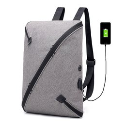 school bag day Australia - New Casual Anti-theft Wear Resistant Outdoor Travel Backpack Large Capacity Student School Bag USB Charging Backpack Computer Protect Packs