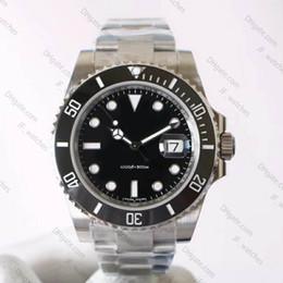 $enCountryForm.capitalKeyWord Australia - Luxury men's automatic 3135 watch 40mm ceramic bezel luminous diving sports watch waterproof 904L steel strap NOOvB9