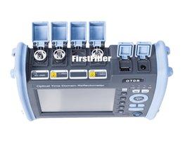 Venta al por mayor de FF-990PRO-M1 Reflectómetro OTDR MM 850 / 1300nm 28 / 26dB incorporado en pantalla táctil VFL OPM OLS, con conector SC ST FC LC