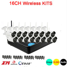 16ch Camera Australia - 5mp 4mp 1080p 3 array Infrared led Xmeye APP Waterproof HD H.265 25fps 16CH 16Channel WIFI Wireless IP Camera kits Free Shipping
