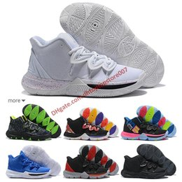 online store 0af0d 8321e Best style 2019 Kyrie Men 5 Basketball Shoes for Cheap Sale Irving 5s  Sneakers Sports Men Shoe Wolf Grey Team Red Outdoor Trainers