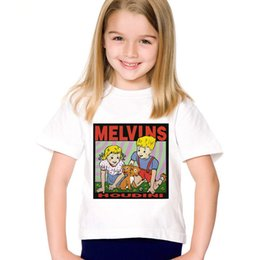 Boys Rock Tees Australia - Cartoon Print The Melvins Houdini Metal Rock Band Children Funny T-shirts Kids Summer Tees Boys Girls Tops Baby Clothing,HKP799