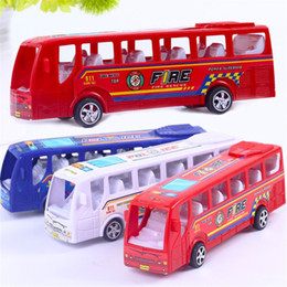Inertial Car Australia - 19cm Pioneer Fire Bus Pull Back Inertial Cars Kids Baby Toy Gift Diecasts Car Model Gift Boy Diecasts Toy Vehicles