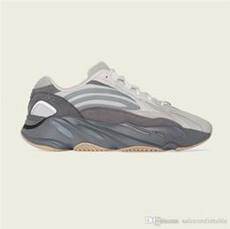 Venta al por mayor de Nuevos originales Originals 700 V2 Tephra OG Hombres Mujeres Zapatillas de deporte Kanye West Calidad auténtica con caja original para exteriores Mejor versión-awd5w