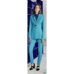 397a9936a267 Ladies siLk coat online shopping - Customized women s slim slimming solid  color suit two piece