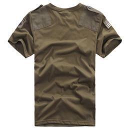 Yaz Açık Çiftler Pamuk Nefes Terleme Kısa Kollu Gömlek Erkekler Kadınlar Askeri Taktik Savaş O Boyun Kazak Tshirt