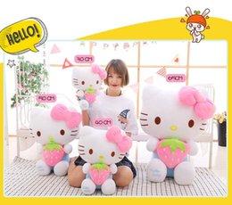 Kitty kedi peluş yastık peluş oyuncak hediye kız hediyeler yüksek kalite çeşitli boyutları çocuk peluş bebek